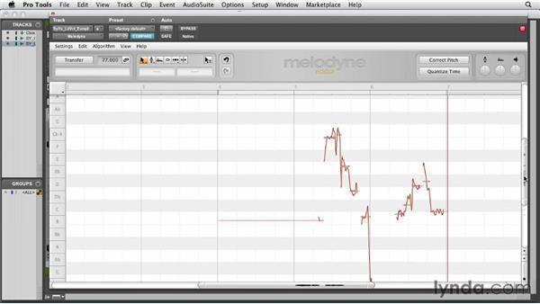 Using the Melodyne plug-in: Melodyne Studio Essential Training
