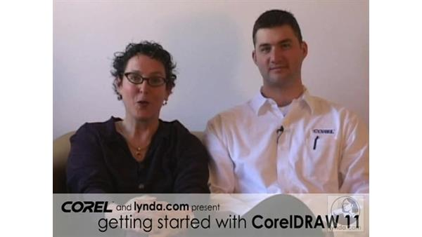 welcome: Getting Started with CorelDRAW 11