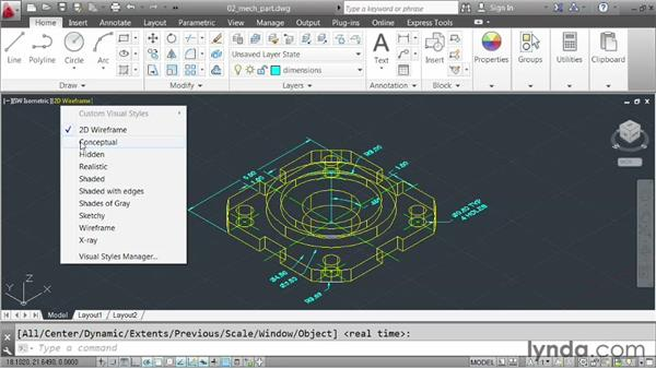 Understanding model space: AutoCAD 2013 Essentials: 01 Interface and Drawing Management