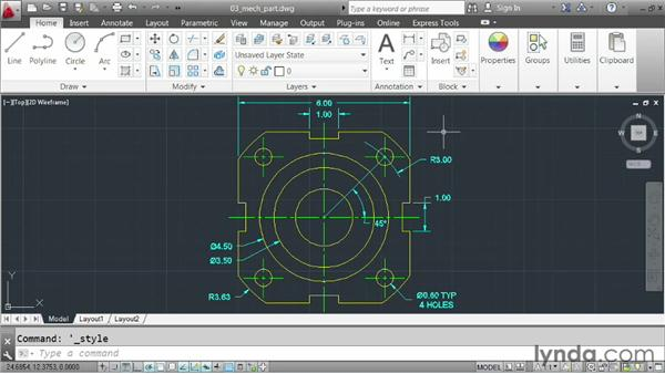 Accessing AutoCAD's tools: AutoCAD 2013 Essentials: 01 Interface and Drawing Management