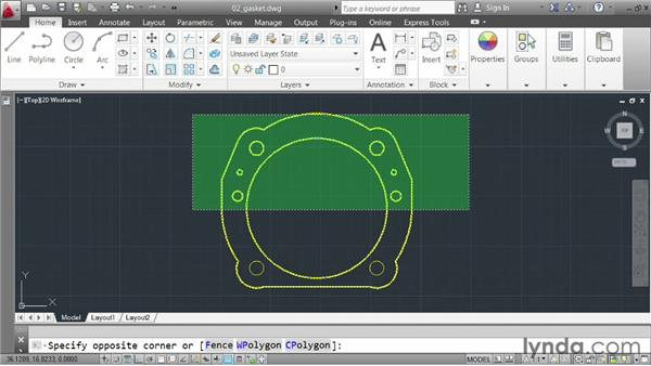 Understanding mouse functions: AutoCAD 2013 Essentials: 01 Interface and Drawing Management