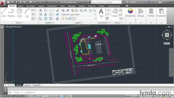 Zooming, panning, and regenning: AutoCAD 2013 Essentials: 01 Interface and Drawing Management