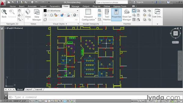 Working in a multiple-document environment: AutoCAD 2013 Essentials: 01 Interface and Drawing Management