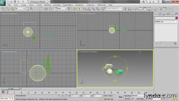Navigating in the viewports: 3ds Max 2013 Essential Training