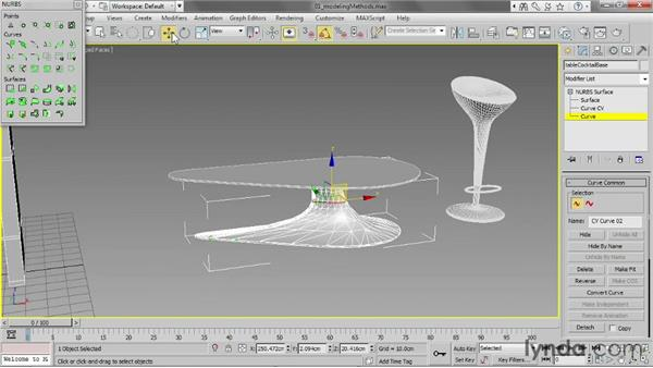 Surveying different modeling methods: 3ds Max 2013 Essential Training