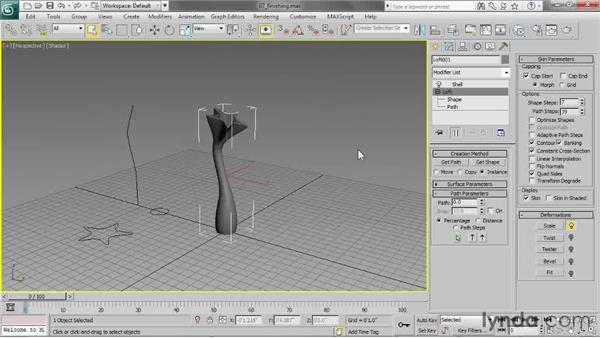 Finishing the model: 3ds Max 2013 Essential Training