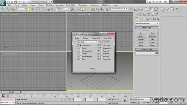 Setting up the scene: 3ds Max 2013 Essential Training