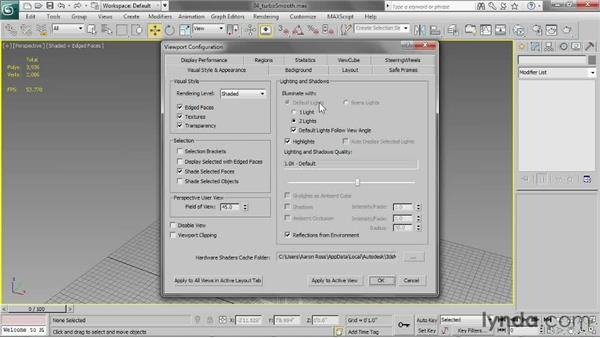 Working with TurboSmooth: 3ds Max 2013 Essential Training