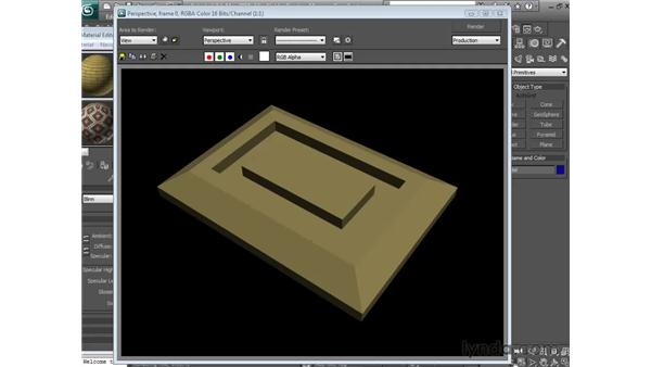Creating arcs and lines: 3ds Max 2013 Essential Training