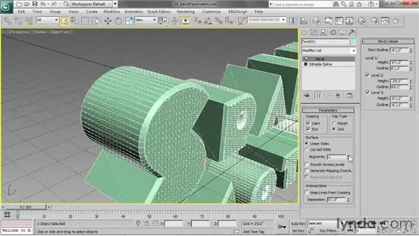 Controlling the level of detail: 3ds Max 2013 Essential Training