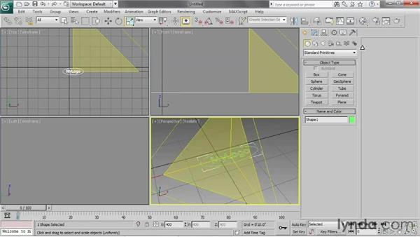 Importing Illustrator paths: 3ds Max 2013 Essential Training