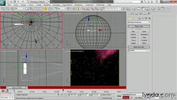 Building up animation in passes: 3ds Max 2013 Essential Training