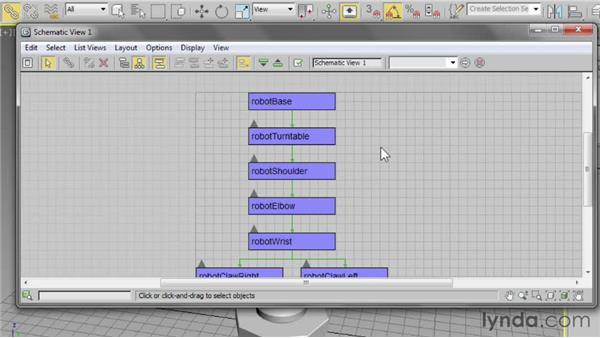 Using Schematic View: 3ds Max 2013 Essential Training
