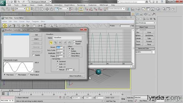 Understanding controllers: 3ds Max 2013 Essential Training