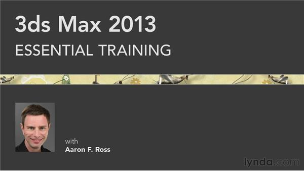 Goodbye: 3ds Max 2013 Essential Training