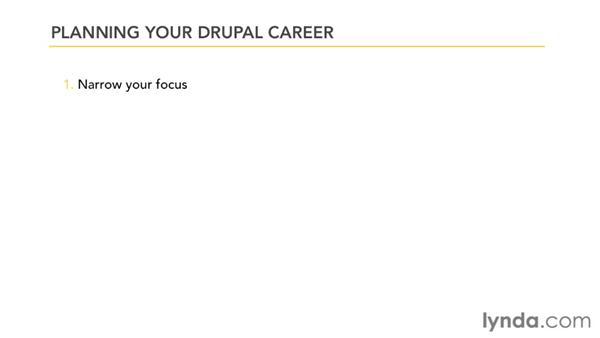 Planning your Drupal career: Drupal 7 Advanced Training