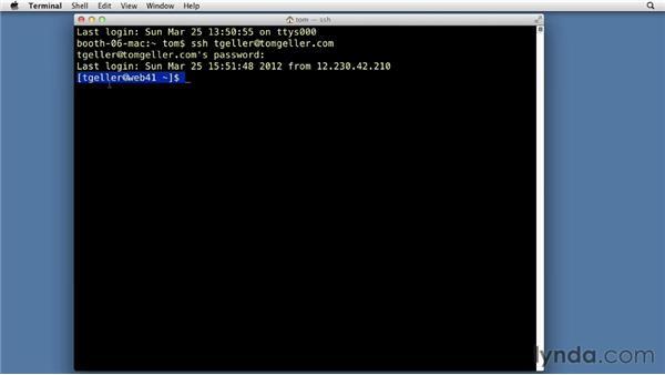 Using Unix's command-line interface: Drupal 7 Advanced Training
