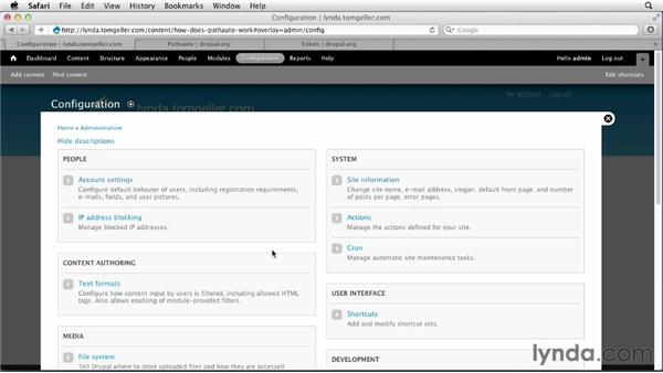Managing URL paths: Drupal 7 Advanced Training