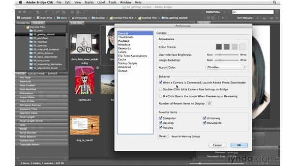 Setting Camera Raw preferences : Photoshop CS6 for Photographers: Camera Raw 7