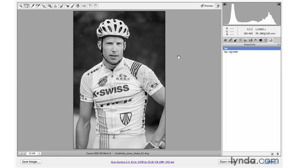 Creating snapshots of memorable looks: Photoshop CS6 for Photographers: Camera Raw 7