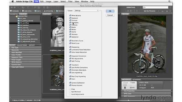 Working with multiple adjustments: Photoshop CS6 for Photographers: Camera Raw 7