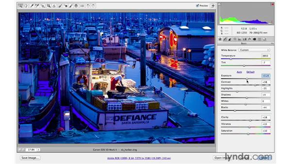 Using the histogram: Photoshop CS6 for Photographers: Camera Raw 7