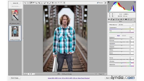 Improving color balance: Photoshop CS6 for Photographers: Camera Raw 7