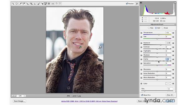Correcting exposure : Photoshop CS6 for Photographers: Camera Raw 7