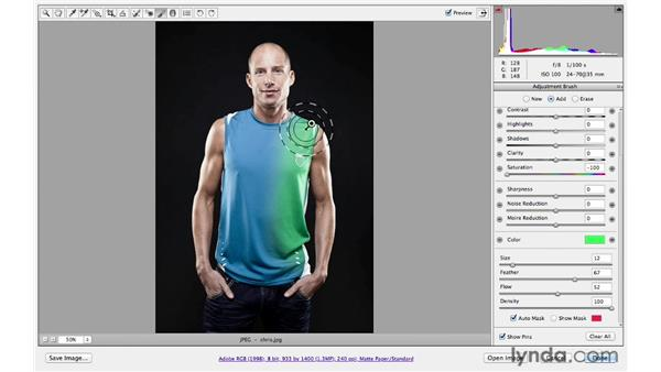 Working with Auto Mask: Photoshop CS6 for Photographers: Camera Raw 7