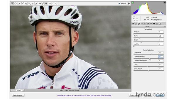 Exploring noise reduction : Photoshop CS6 for Photographers: Camera Raw 7