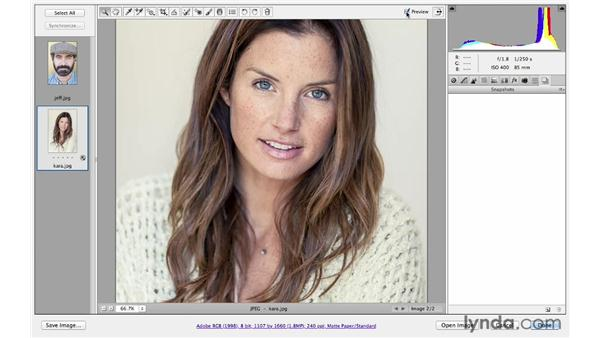Adding split toning to color photographs: Photoshop CS6 for Photographers: Camera Raw 7