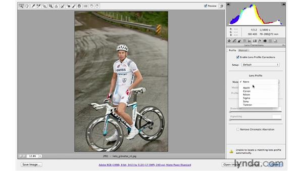 Adding a darkening vignette effect: Photoshop CS6 for Photographers: Camera Raw 7