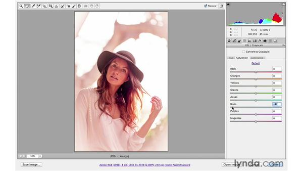 A creative color mini-project: Photoshop CS6 for Photographers: Camera Raw 7