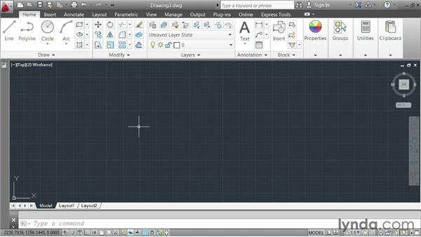 Working with metric units: AutoCAD 2013 Essentials: 02 Drawing Fundamentals