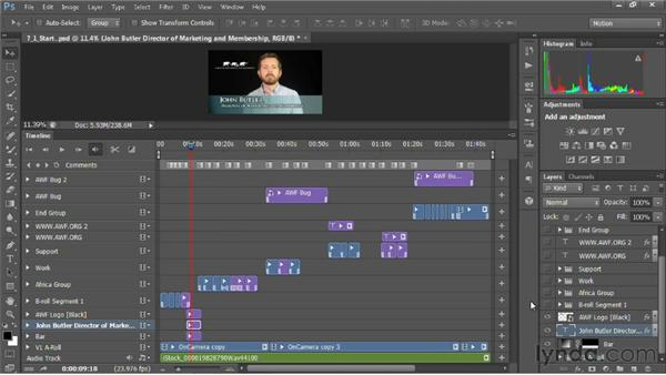 What to do before exporting your video: Editing Video in Photoshop CS6
