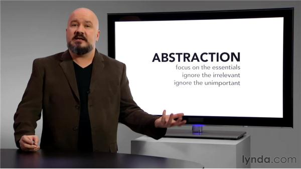 What is abstraction?: Foundations of Programming: Object-Oriented Design