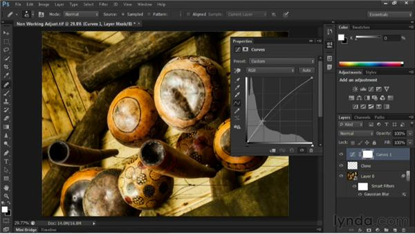 Using adjustment layers: Nondestructive Exposure and Color Correction with Photoshop