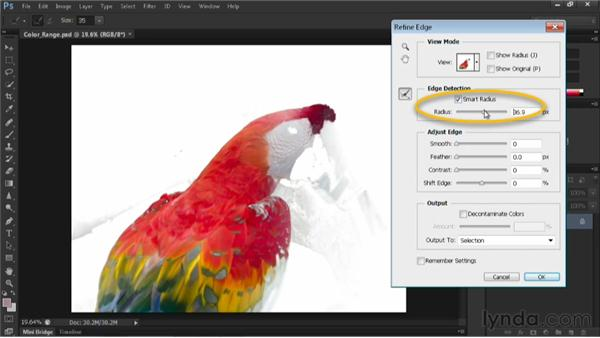 Using the Color Range command: Nondestructive Exposure and Color Correction with Photoshop