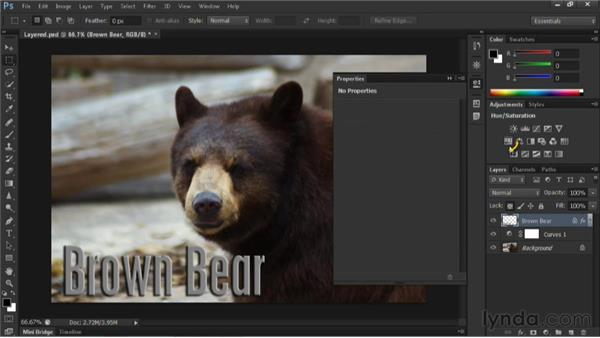 Clipping adjustment layers: Nondestructive Exposure and Color Correction with Photoshop