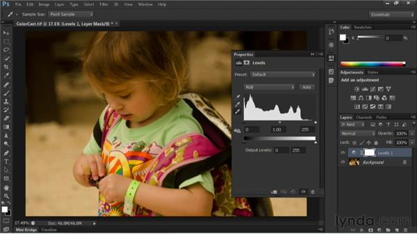 Goodbye: Nondestructive Exposure and Color Correction with Photoshop