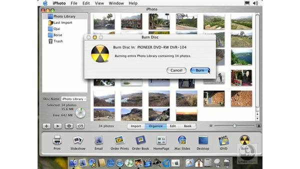 backing up to a CD: Learning iLife: iTunes 4, iPhoto 2, iMovie 3 and iDVD 3