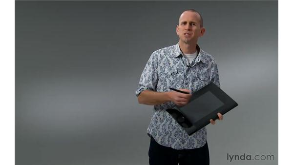 Using a Wacom tablet: Photoshop for Photographers: Portrait Retouching