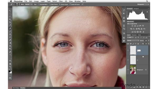 Retouching skin: Photoshop for Photographers: Portrait Retouching