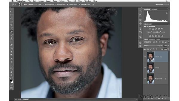 Reducing hotspots, part 2: Photoshop for Photographers: Portrait Retouching