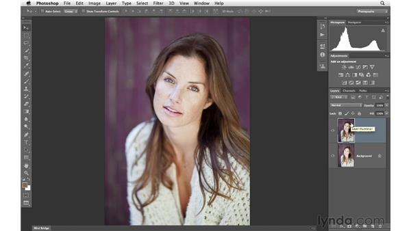 Using Shadows/Highlights to improve exposure: Photoshop for Photographers: Portrait Retouching