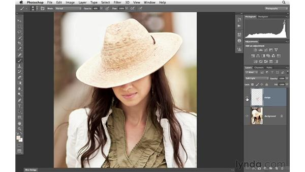 Exploring the burning-and-dodging workflow: Photoshop for Photographers: Portrait Retouching