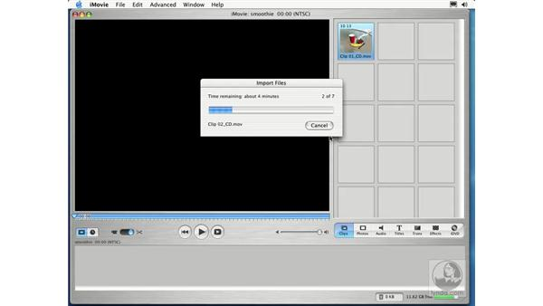 importing from your hardrive: Learning iLife: iTunes 4, iPhoto 2, iMovie 3 and iDVD 3
