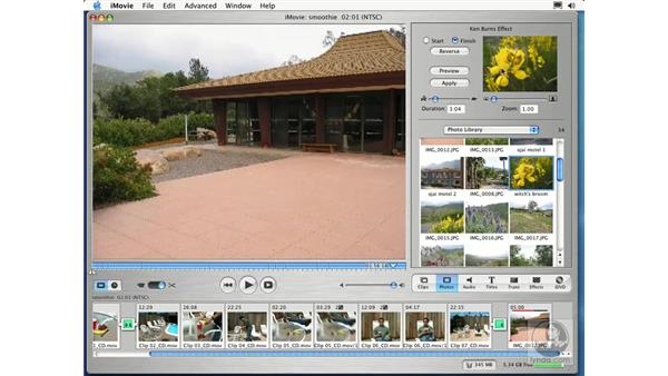 adding photos: Learning iLife: iTunes 4, iPhoto 2, iMovie 3 and iDVD 3