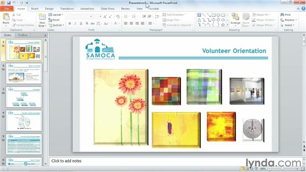 Saving as a template: PowerPoint 2010 Power Shortcuts
