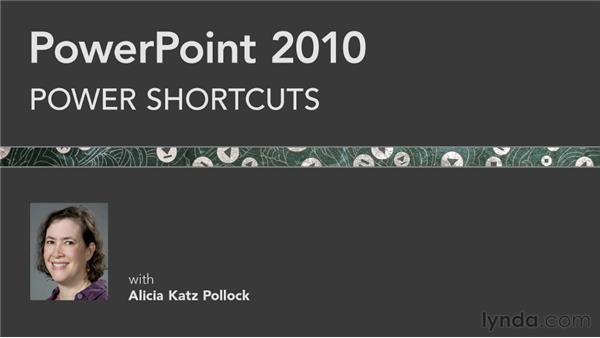 Goodbye: PowerPoint 2010 Power Shortcuts